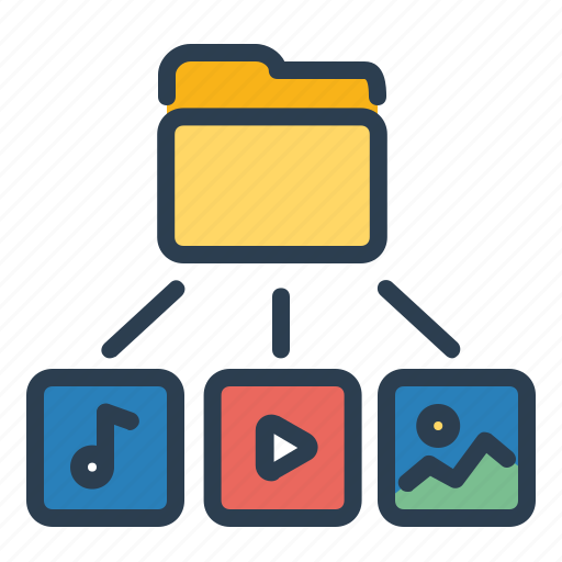 folder, image, media, video icon