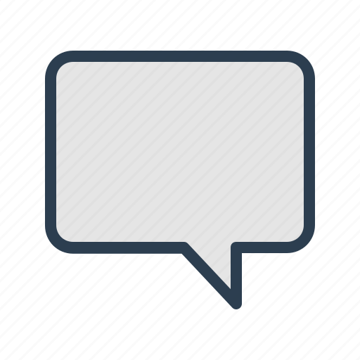 Chat, comment, message bubble, speech icon - Download on Iconfinder
