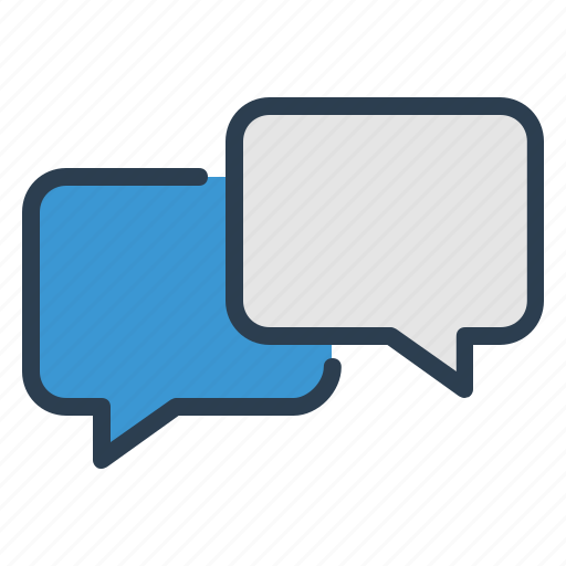 chat, comments, dialogue, messages icon