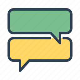 chat, comments, communication, dialogue, message bubble, messages, talk icon