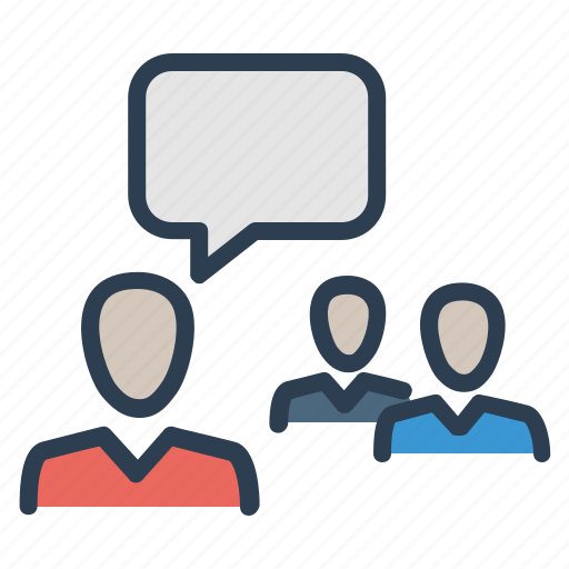 conference, conversation, discuss, meeting icon