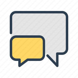 chat, comment, communication, message bubble, messages, reply, talk icon