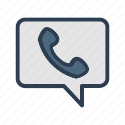 call me, communication, message, message bubble, phone, speech, talk icon