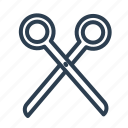 art, barber, crop, cut, edit, scissors, tool icon