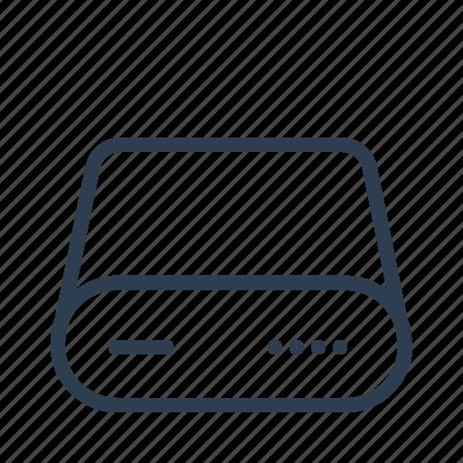 database, db, disk, harddrive, hardware, server, storage icon