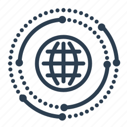 communication, connection, global business, international service, network, online support, web icon