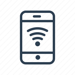 connection, hotspot, mobile, network, phone, signal, wifi icon