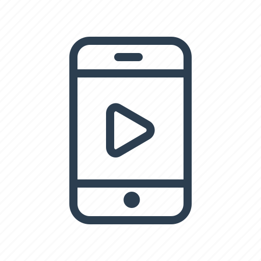 cam, film, mobile, movie, phone, video, youtube icon