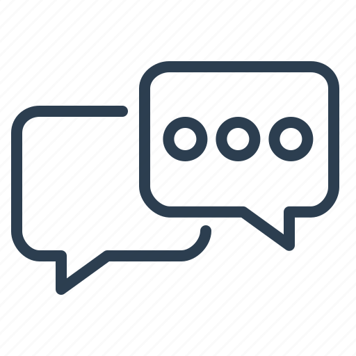 chat, comments, communication, connection, online support, talk icon