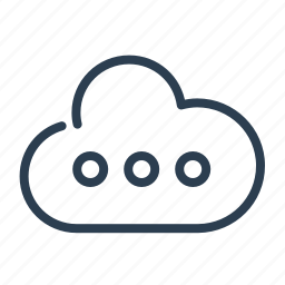 cloud, cloud computing, database, db, online storage, share, sharing icon
