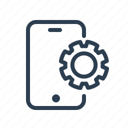 device, gear, mobile, optimization, options, phone, settings icon