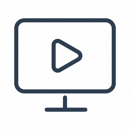 Computer, marketing, media, movie, screen, technology, video icon - Download on Iconfinder