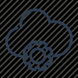 cloud computing, options, settings, share, sharing, storage, sync icon