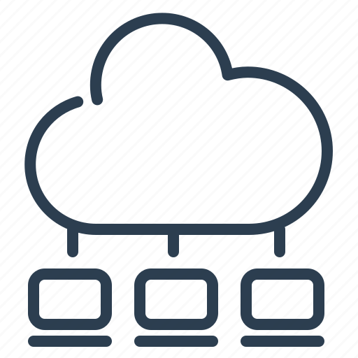 cloud computing, communication, computers, connection, network, network sharing, social icon