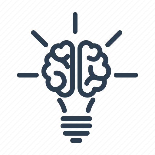 Brain, bulb, creative, creativity, idea, productivity ...