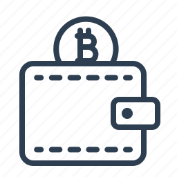 bitcoin, coin, finance, money, shopping, vitual currency, wallet icon