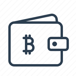 bitcoin, finance, money, pouch, shopping, virtual currency, wallet icon