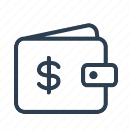 cash, dollar, finance, money, shopping, usd, wallet icon
