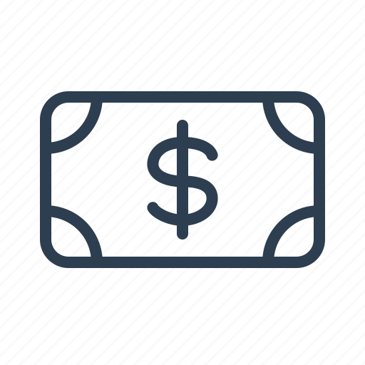 Banknote, billing, cash, currency, dollar, money, usd icon - Download on Iconfinder