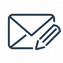 create, email, envelope, message, new, pencil, write icon