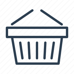 basket, buy, cart, ecommerce solution, shop, shopping bag, store icon