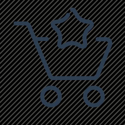 add to list, basket, bookmark, favorite, shop bag, shopping cart, star icon