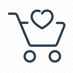 add to list, basket, bookmark, favourite, heart, shop bag, shopping cart icon