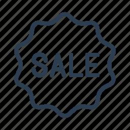 badge, discount, label, sale, sales, sticker, tag icon