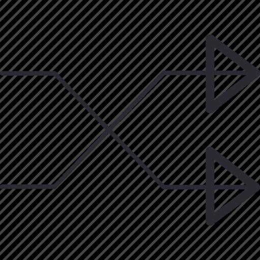 arrow3, control, navigation icon