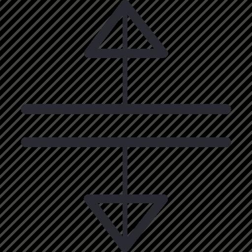 arrow, arrows, control, decompression, navigation icon