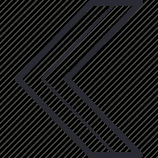 back, control, left, navigation, next, previous, return icon