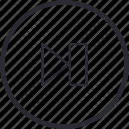arrow, control, navigation, next, previous icon