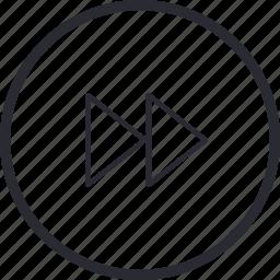 arrows, control, navigation, next, previous, right icon