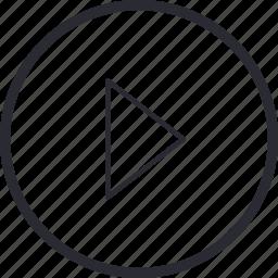 arrow, control, navigation, next, play, previous, right icon