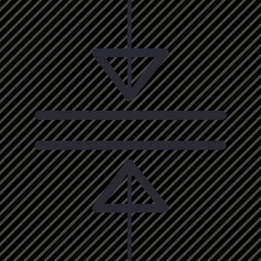 arrow, arrows, control, navigation, pressing icon