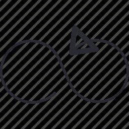arrow, control, navigation, refresh icon