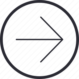 arrow, control, navigation, next, previous, right icon