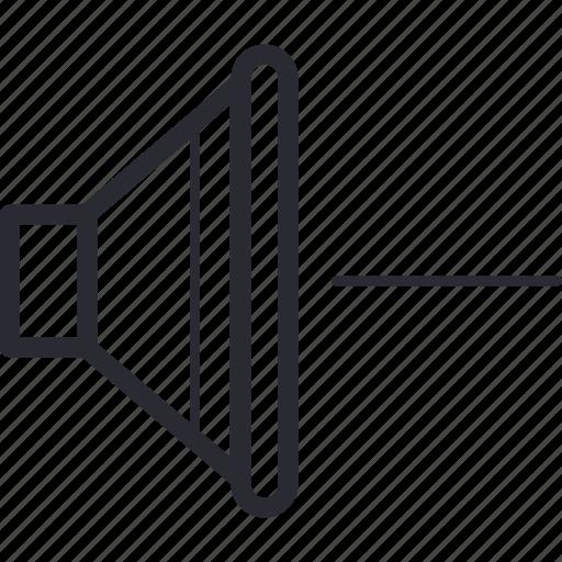 control, less, minus, navigation, volume icon
