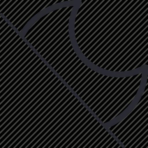crescent, weather icon