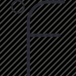 degree, fahrenheit, weather icon