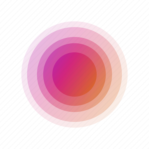 abstract, bubble, circle, geometric, leaf, rainbow icon
