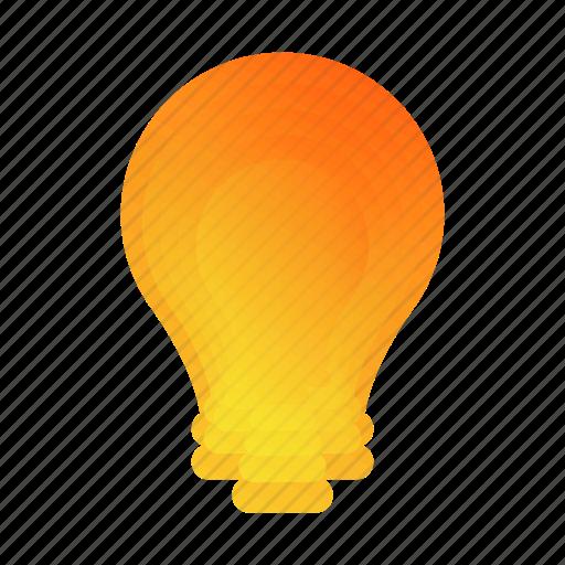 abstract, bubble, bulb, idea, lamp, leaf, rainbow icon