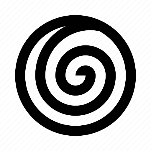 abstract, circle, figure, line, spiral icon