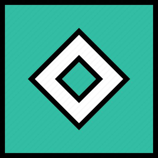 abstract, center, cube, design icon