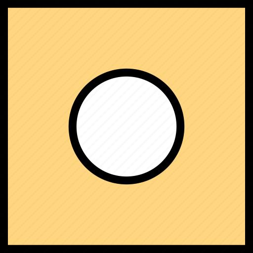 abstract, creative, dice, dot icon