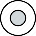 abstract, center, creative, dot icon