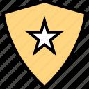 abstract, creative, shield, star