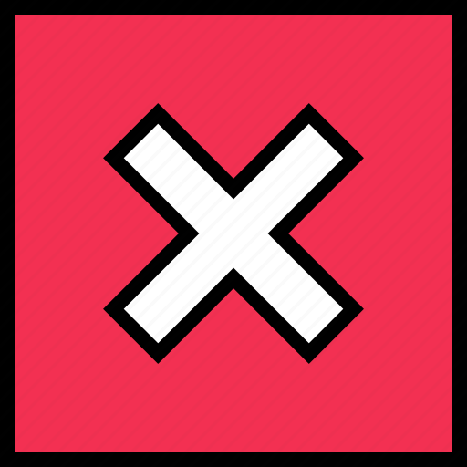 abstract, delete, design, stop icon