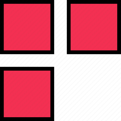 abstract, creative, dots, three, windows icon