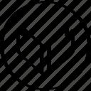arrow, down, download, point, pointer icon